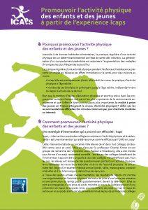 activité physique icaps